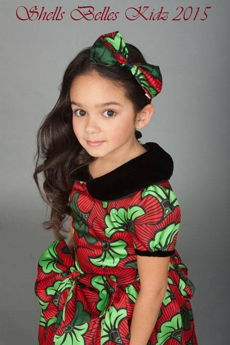 Ankara dresses for children (7)