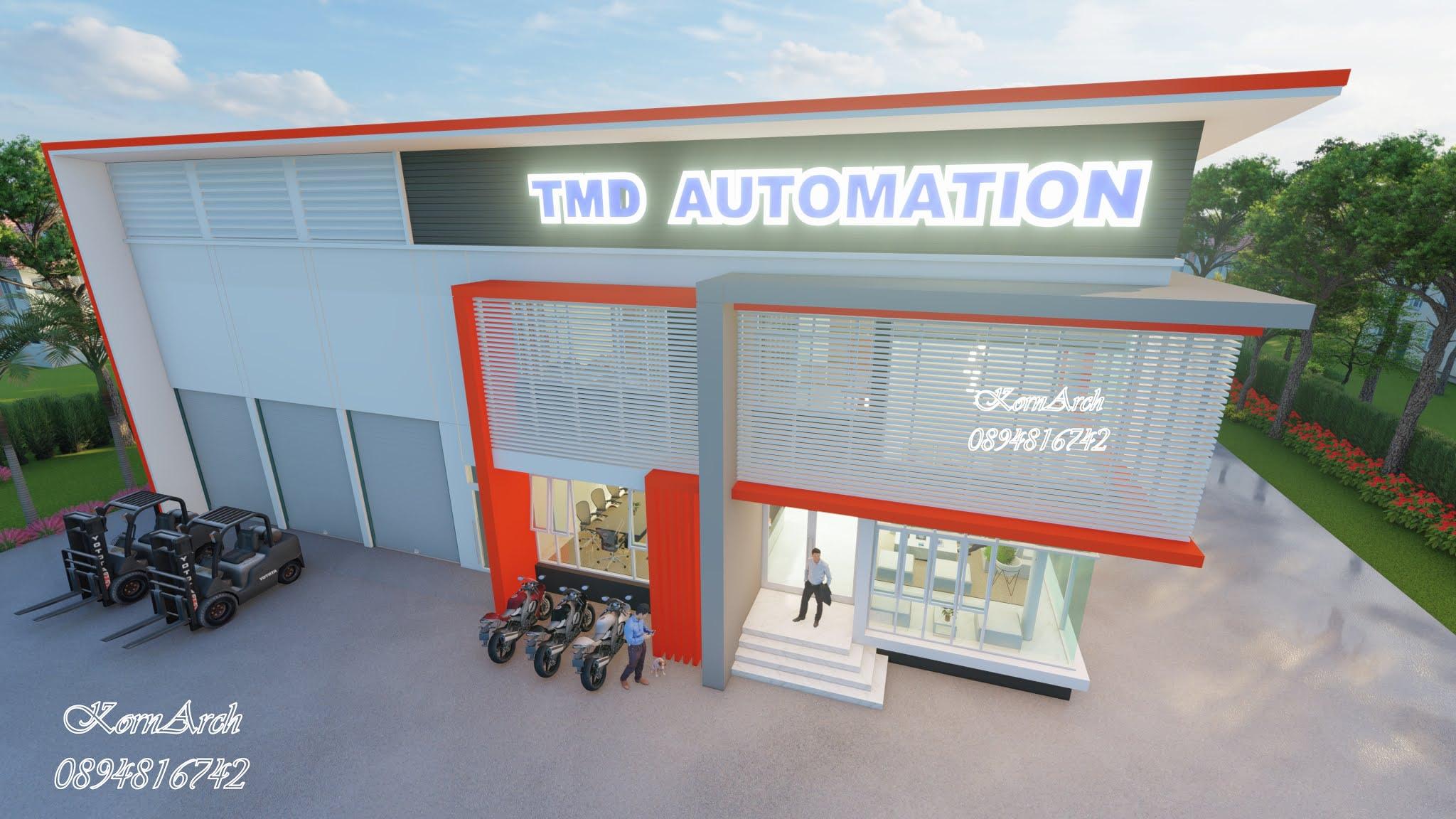 รับออกแบบโรงงาน,สำนักงาน,พักอาศัย เจ้าของอาคาร บริษัท TMD Automation Co.,Ltd. สถานที่ก่อสร้าง ต.เชียงรากน้อย อ.บางปะอิน จ.พระนครศรีอยุธยา