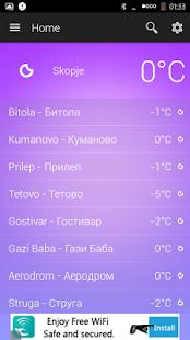 Macedonia Weather - náhled