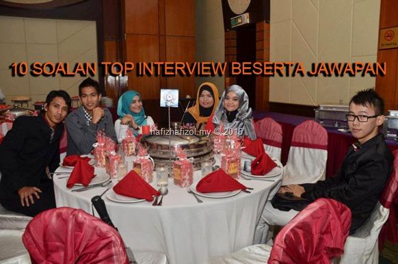 10 soalan top interview beserta jawapan version english