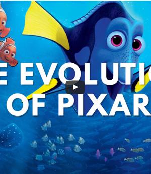 La evolución de Pixar, todas las producciones en un solo video