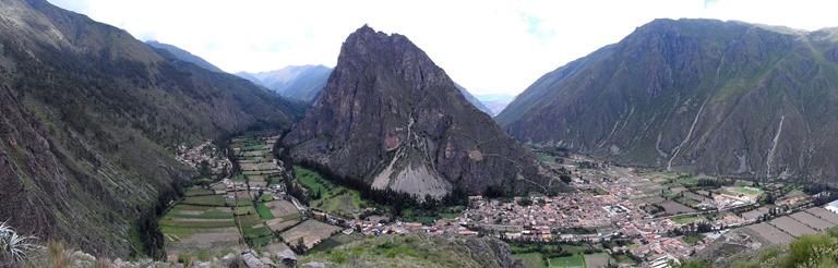 Perú — Ollantaytambo — Terraces of Pumatallis