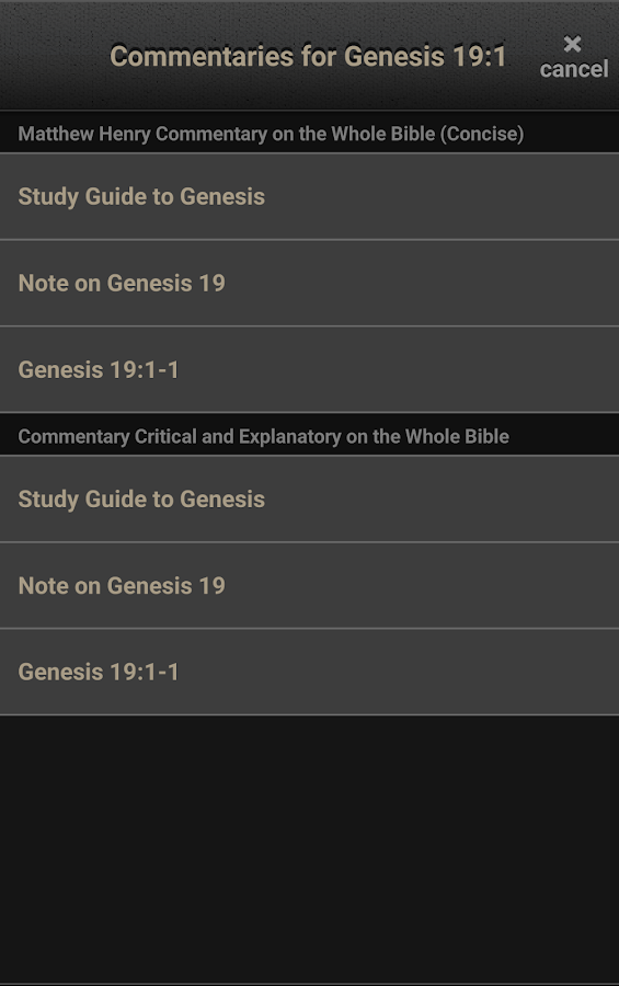 CBN Bible- screenshot