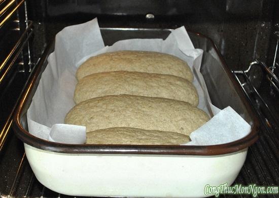 nướng bánh