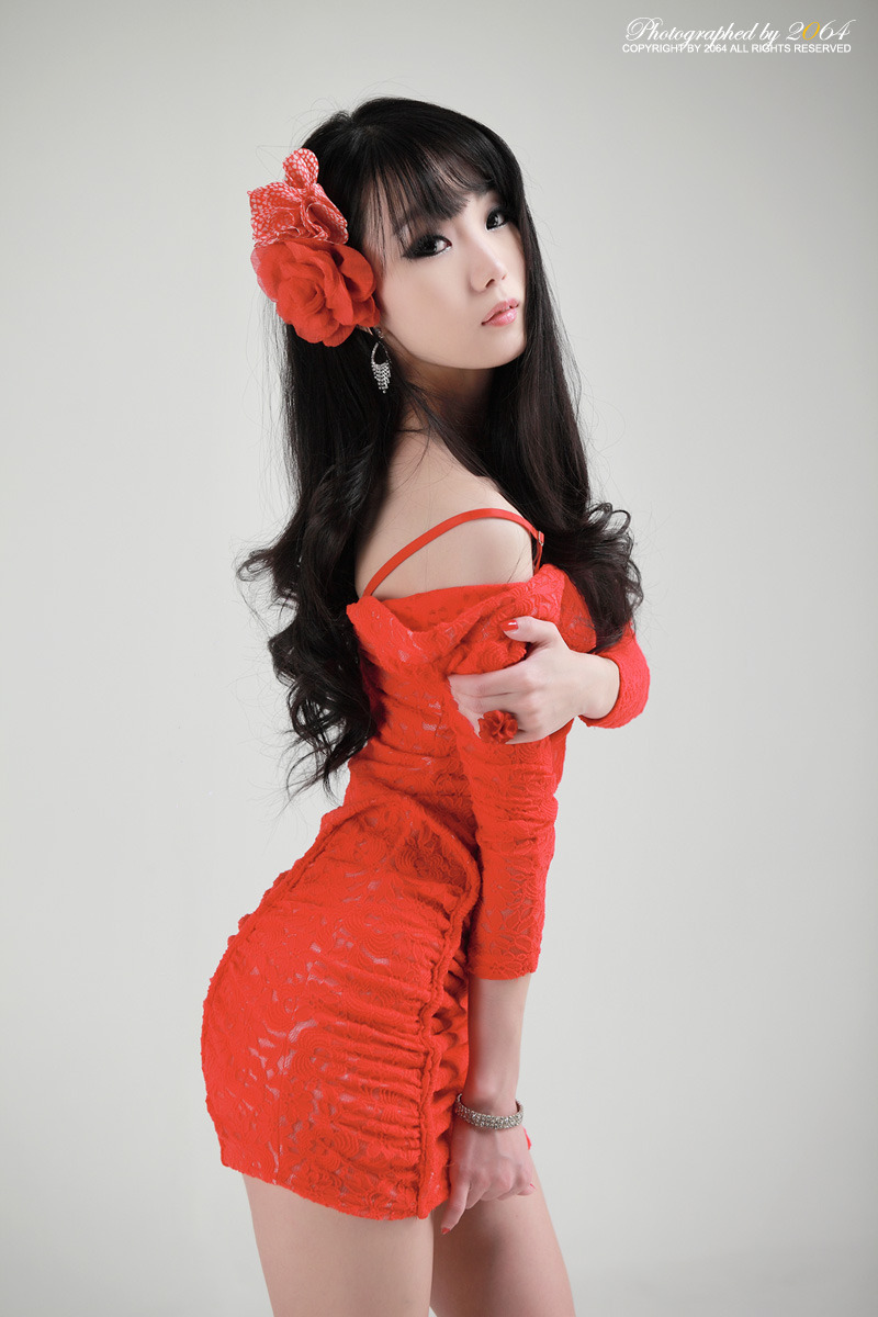 Sexy+Im+Soo+Yeon%21 004 Beautiful Im Soo Yeon Photos in Red Dress