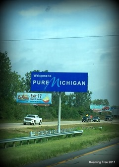 Back in Michigan!