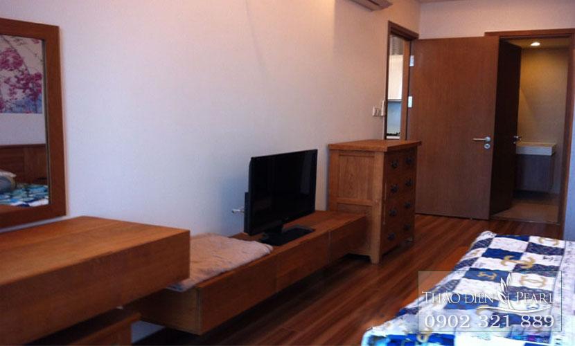 view phòng ngủ căn hộ thảo điền pearl
