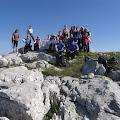 Jaskanski planinari na vrhu Badanj