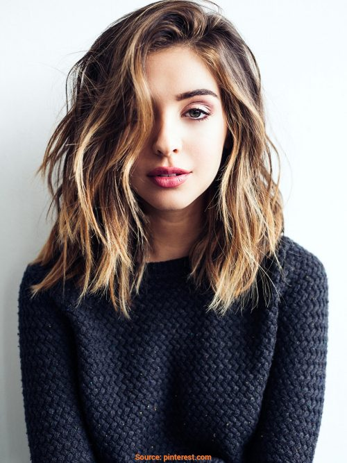 Shoulder Length Hairstyles For Women's 2018 4