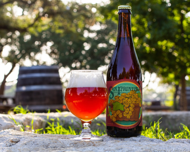 Jester King Releasing Cerveza Sin Frontera Batch 2
