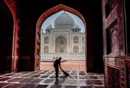 The Taj Mahal by Matt Sims–Agra, India