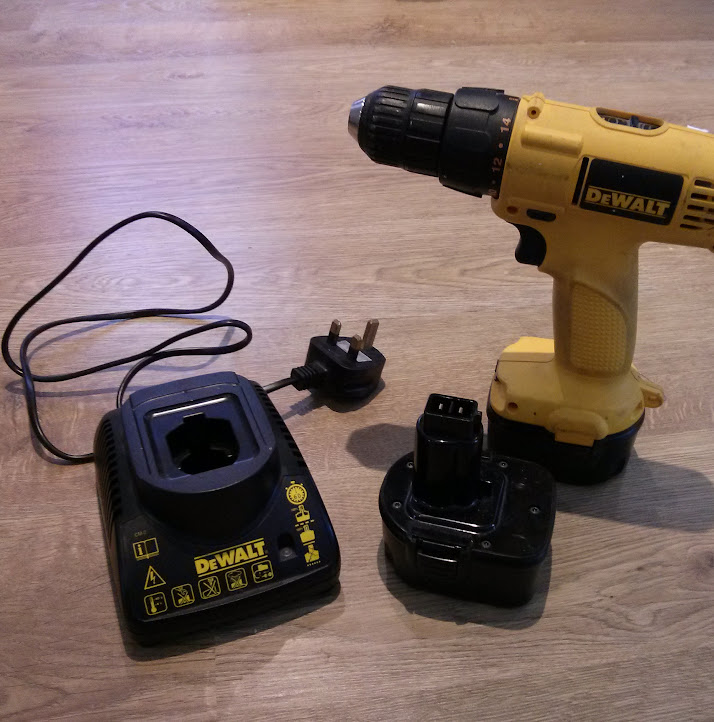 dewalt drill used. dewalt 12v drill driver with 2x batteries. good condition, used for the odd job round house. £50 delivered d