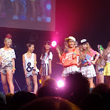 the girls from CocoGirl performing Cocolulu Summer in Shibuya, Tokyo, Japan