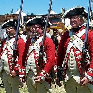 British Red Coats