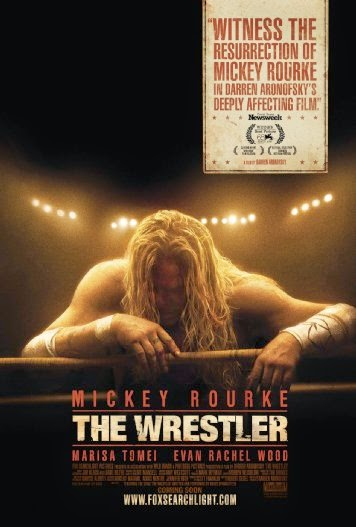 Poster Of English Movie The Wrestler (2008) Free Download Full New Hollywood Movie Watch Online At alldownloads4u.com