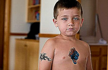 12 Cool Ideas of Temporary Tattoo for Kids   XpressMag