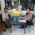 Satlantas Polres Wajo Tertibkan Plat Gantung Kuning Untuk Antrian BBM