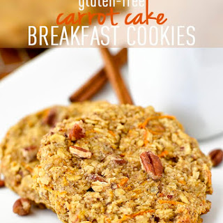 Gluten-Free Carrot Cake Breakfast Cookies Recipe