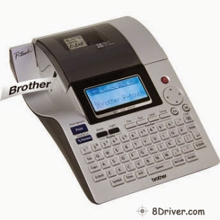Get Brother PT-2700 printer's driver, understand how to deploy