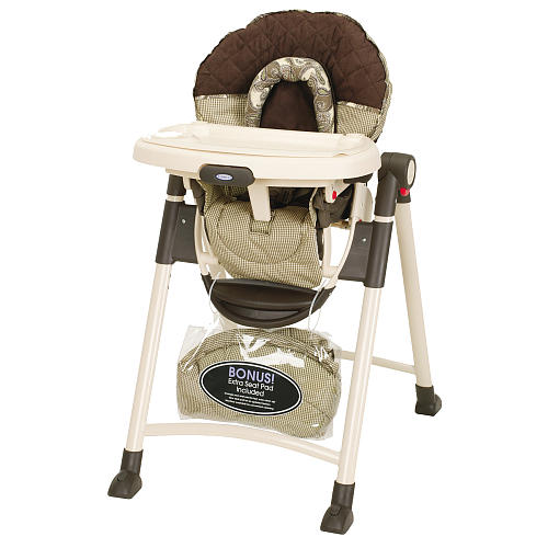 With Drew, We Registered And Received The Graco Contemporary High Chair  Birkshire. We Wanted That One Because It Was One Of The Few That Had  Neutral Colors ...