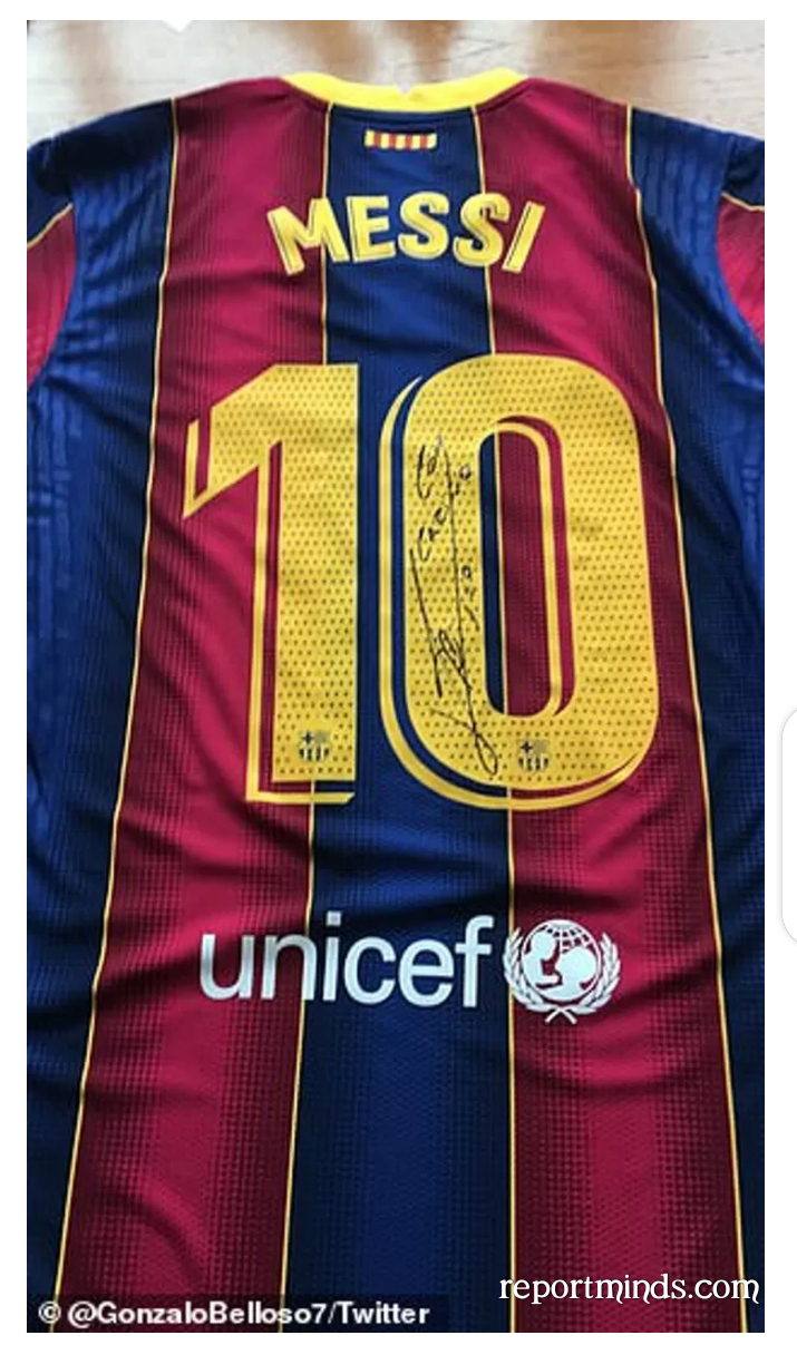 Barcelona's star, Lionel Messi helps fund 50,000 Covid vaccines for South American players