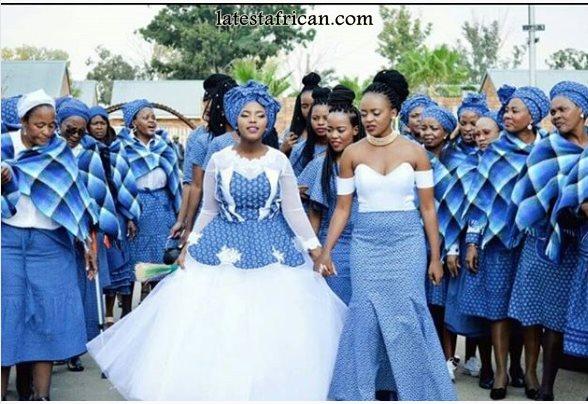 South African Shweshwe Dresses 2019 New Styles