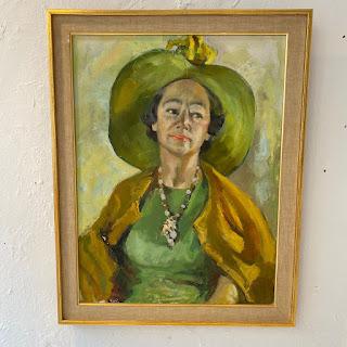 Mary Sarc Murphy Oil Portrait