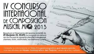 El compositor Emilio Calandín gana el Iº Premio en el IV concurso de composición musical MIQ 2013