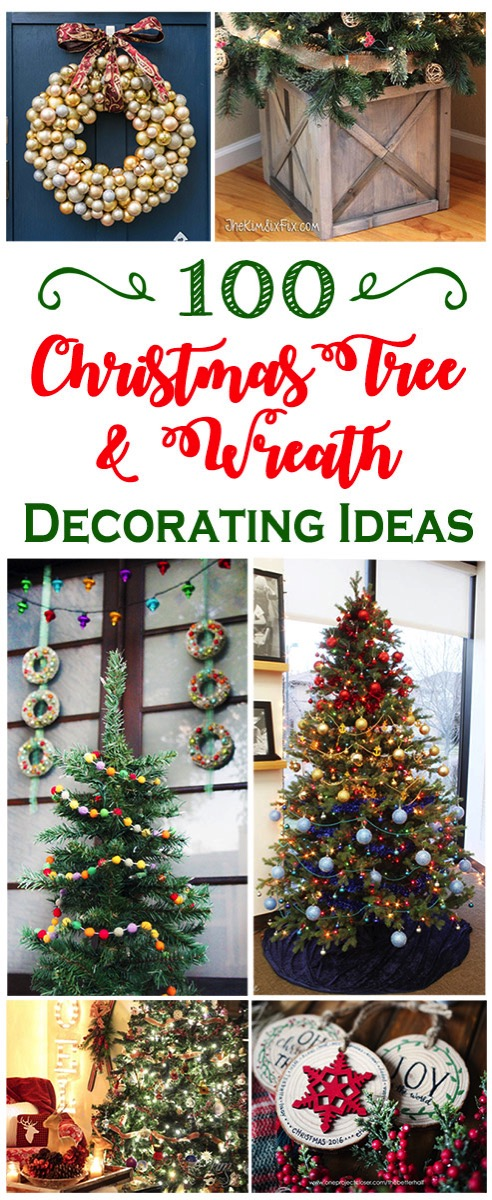 100 christmas tree and wreath decorating ideas for any style