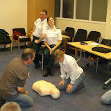 Heartstart Instructor Training (Jan 2009)