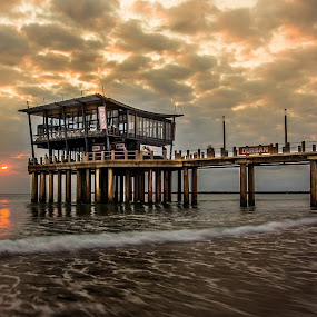 Moyo Pier by Marc Anderson - Buildings & Architecture Architectural Detail ( #marcanderson #rocherphotography )