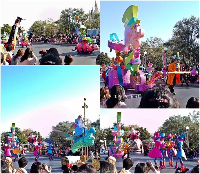 9 迪士尼聖誕村大遊行幸福在這裡夢之光大遊行