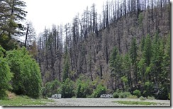 Redwood Bar River Access, Chetco Fire