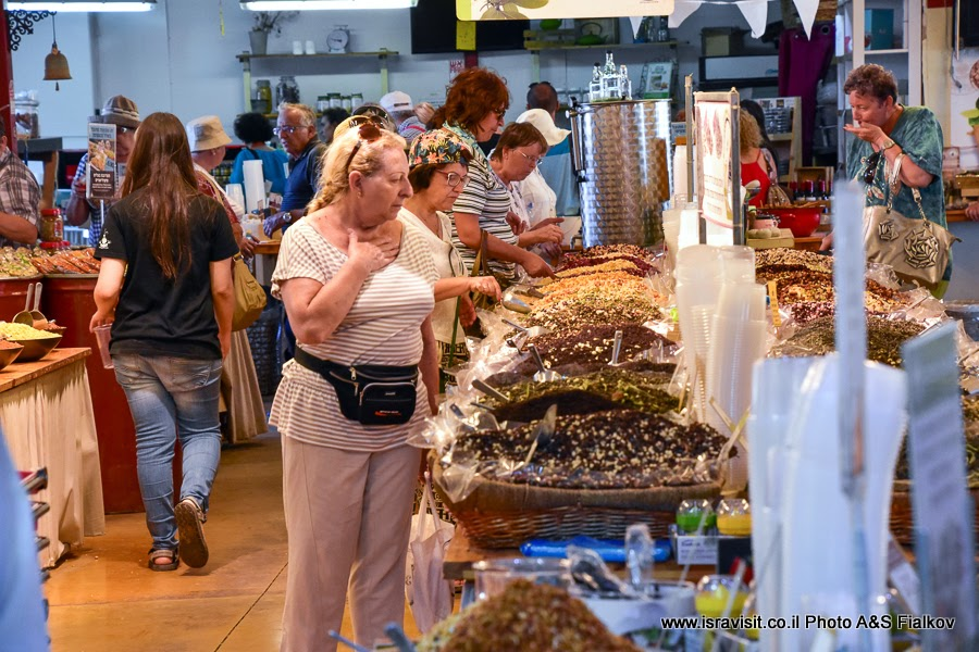 Магазин пряностей и специй в Бейт Лехем Ха-Глилит. Экскурсия в Израиле.