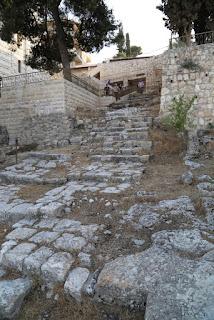 16-Escalier où est passé Jésus