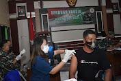 Kodim 1003/HSS Gencarkan Serbuan Vaksinasi Untuk Masyarakat