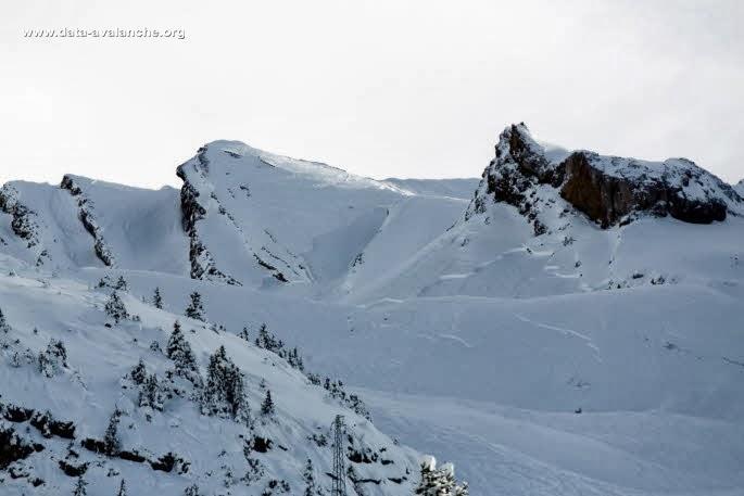 Avalanche Aravis, secteur Torchère, Secteur hors-piste La Clusaz - Photo 1