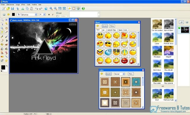 PhoXo : un logiciel d'édition de photos petit mais puissant