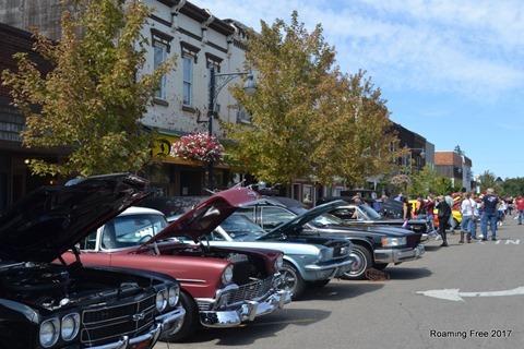 Downtown Durand car show