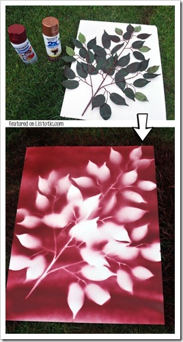 11.-Use-spray-paint-to-make-easy-wall-art-29-Cool-Spray-Paint-Ideas-That-Will-Save-You-A-Ton-Of-Money