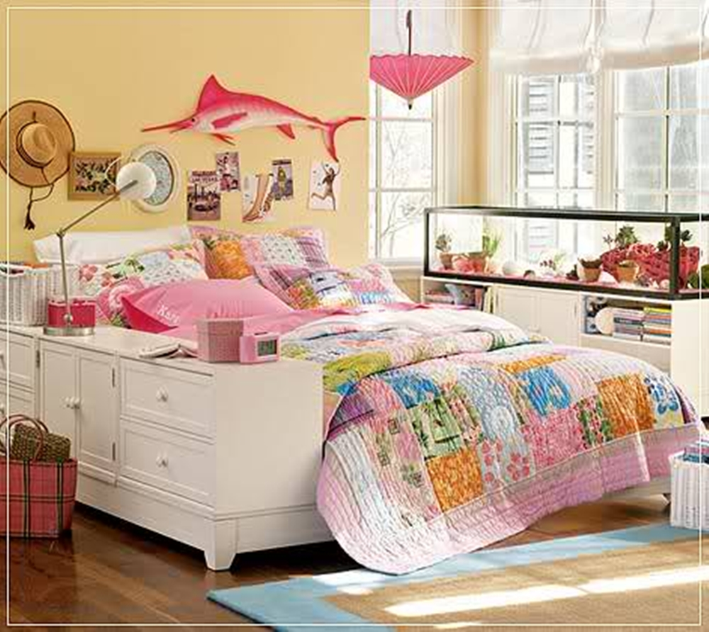 Interior design interior decorating ideas interior for Decorating teenage girl bedroom ideas