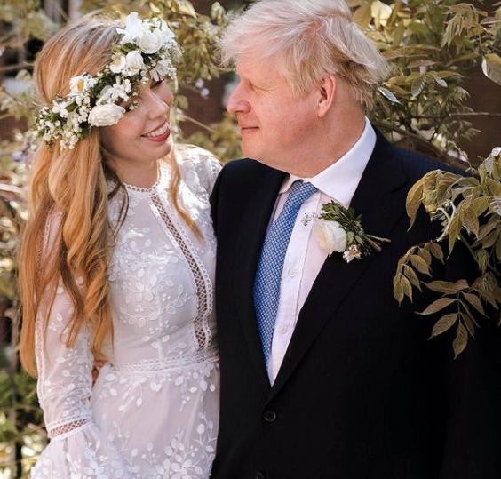 British Prime Minister, Boris Johnson, marries fiancée, Carrie Symonds, in a secret ceremony