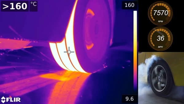 burnout-thermal camera