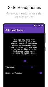 Safe Headphones - Hear Background Noises 1.7