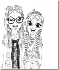 Bizaarvark coloring pages