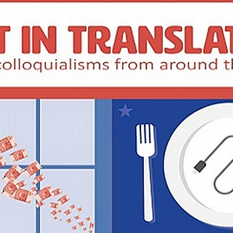 INFOGRAPHIC: MONEY COLLOQUIALISMS FROM AROUND THE WORLD