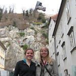 Friends and family visit Graz