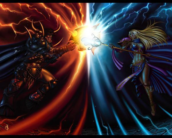 Mysterious Warlock, Sorceress 2