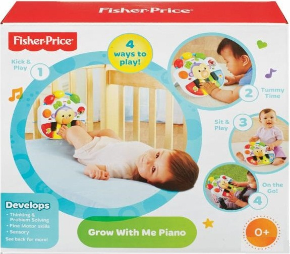 Sản phẩm Đàn Piano khỉ con Fisher-Price Grow With Me Piano