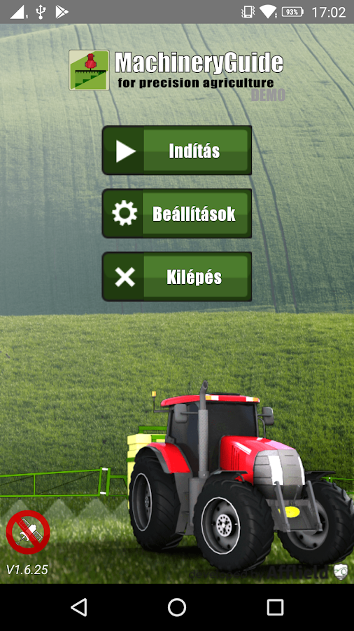 MachineryGuide (Demo)- screenshot